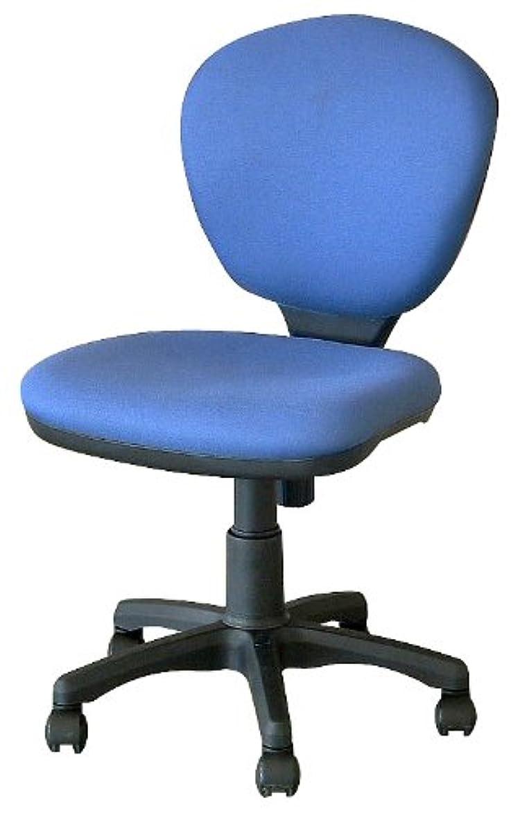 銀河リハーサルマニアナカバヤシ オフィスチェア デスクチェア 椅子 ブルー CRS-101-B