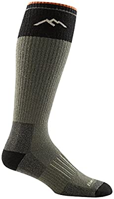 DARN TOUGH (Style 2013) Hunter Heavyweight w/ Full Cushion Sock - Forest, Large