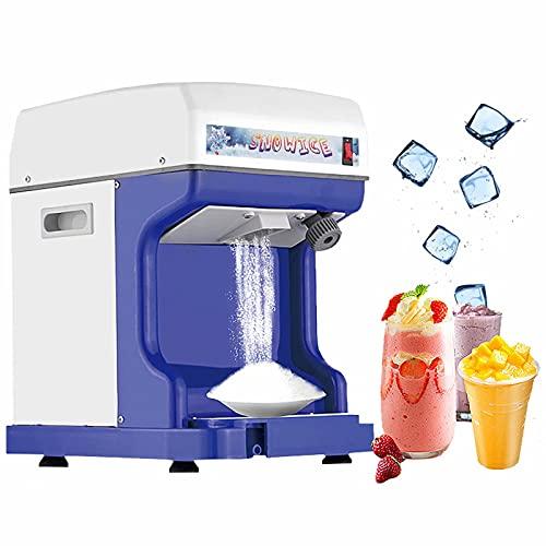 Afeitadora de hielo eléctrica Máquina de granizado Máquina de cono de nieve...