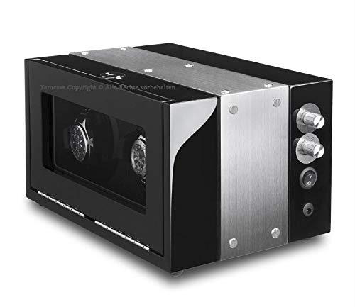 MaestroRelojero Vitrina Movimiento Relojes Watch Winder 2 Carbon Fiber ALU LED
