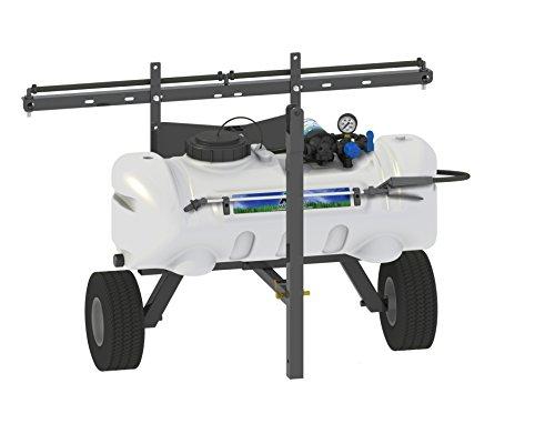 Master Manufacturing SNO-11-015A-MM 15 Gallon Trailer Broadcast & Spot Sprayer-Everflo 2.2GPM, 7 Foot Coverage