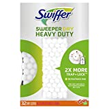 Swiffer Sweeper Heavy Duty Dry Disposable Sweeping Cloths Pack of 32 Gain Scent