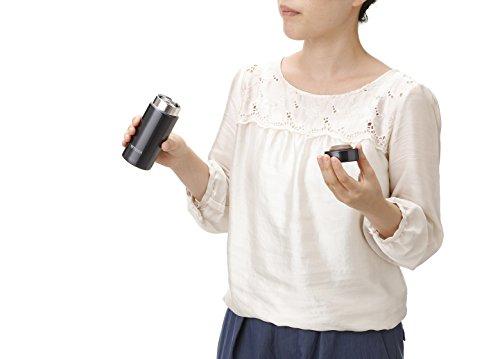 『タイガー魔法瓶 水筒 スクリュー マグボトル 6時間保温保冷 200ml 在宅 タンブラー利用可 パウダーブラック MMP-J020KP』の8枚目の画像