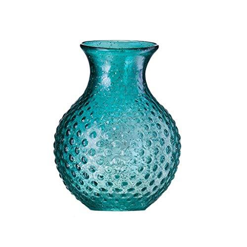 Glasvaas handgemaakte Craft Hydroponic Plant Bloemstuk Creative, kan worden geplaatst In onderdeel tv kabinet, huishoudens, kantoren (Size : 20 * 15cm)
