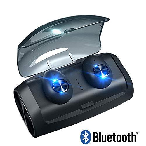 TWS Bluetooth 5.0 Koptelefoon Draadloos In-Ear Oordopjes Stereo Oordopjes Waterdichte Draadloze Headset Met Microfoon Opladen Box