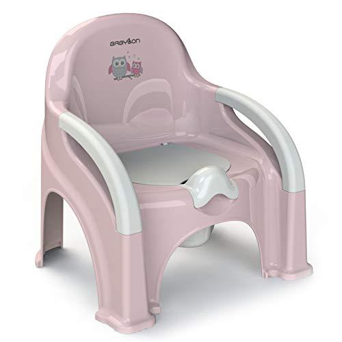 BABYLON orinales infantiles Premier orinal bebe, wc niños color rosa