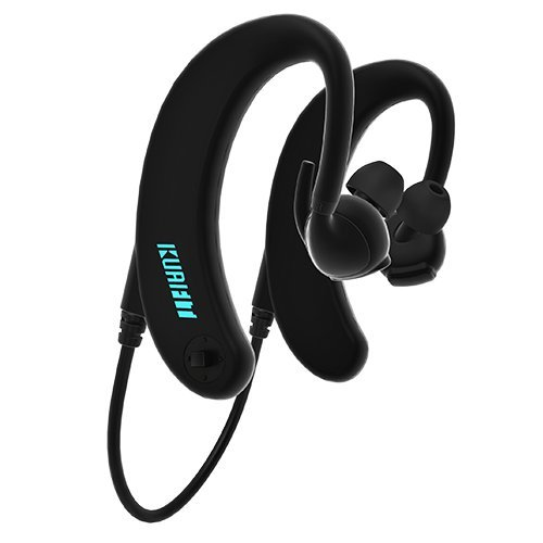 KuaiFit Sport Headphones - Heart Rate Monitor, Fitness Tracker, MP3 Player, 8GB Memory, Bluetooth, BLE, ANT+, Audio Coach, Personal Trainer and Sweatproof - Run Cycle Gym Triathlon