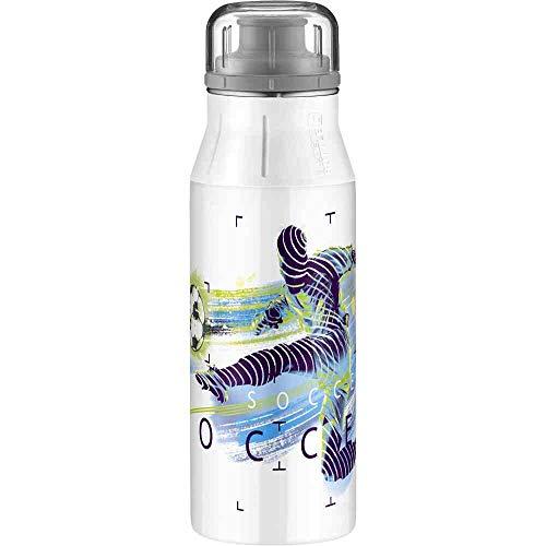 alfi elementBottle Edelstahlflasche, Edelstahl, Weiß, 600ml
