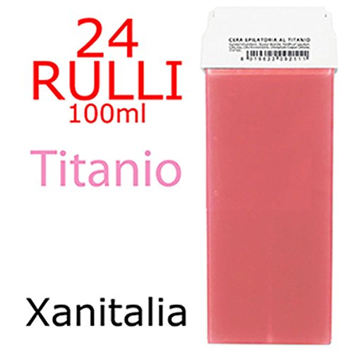 Kit 24 Rulli Ceretta Epilatoria Liposolubile 100ml - TITANIO