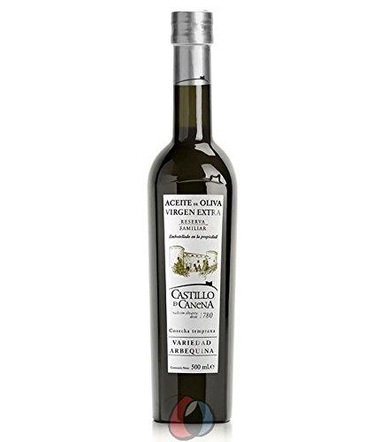Castillo de Canena Reserva Familiar Arbequina Prämiertes spanisches Natives Olivenöl Extra 500 ml