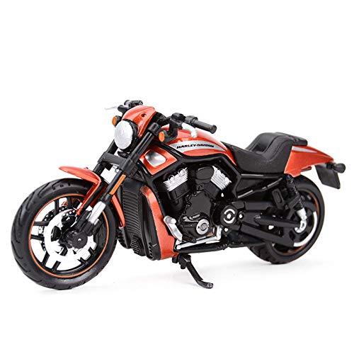 JIALI Trommel kompatibel mit Harley 2012 VRSCDX Motorrad Kunststoff Modell Kit Simulation Statische Legierung...