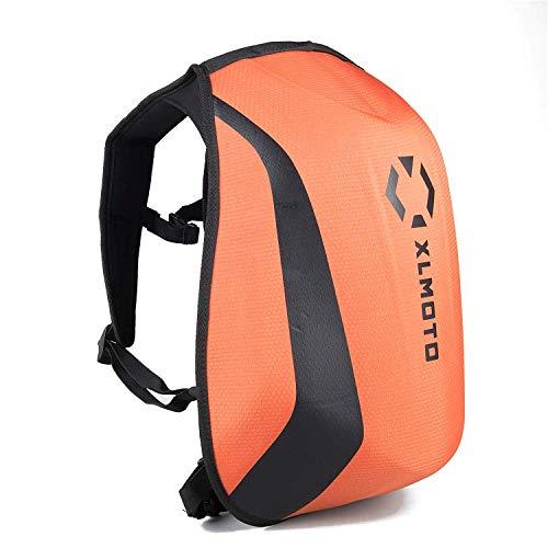 xlmoto Slipstream Motorrad-Rucksack, wasserdicht, 24 l (Orange)