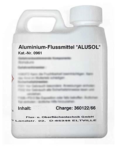 ALUSOL-Spezialflussmittel zum Weichlöten von Aluminium, 100 g, zum verlöten von Reibe- oder Modellierlot (Abgabe nur an gewerbliche Verbraucher!)