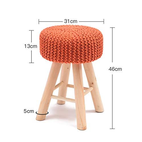 PLL kruk massief houten kruk mode sofa kruk creatieve dressing kruk modern Small Round kruk Home make-up kruk Bank kleine stoel
