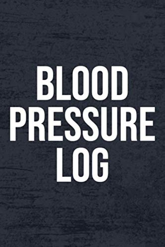 Blood Pressure Log: Blood Pressure Log Book, 6x9 in size 100 pages. Easy to use record book for daily blood pressure measurements and tracking.