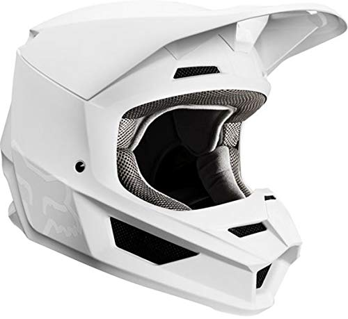 Fox Racing 2019 V1 - Casco de motocross, color negro mate