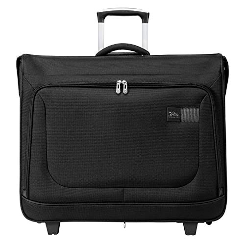 Skyway Sigma 6.0 Lightweight Luggage Collection (Black, Rolling Garment Bag)
