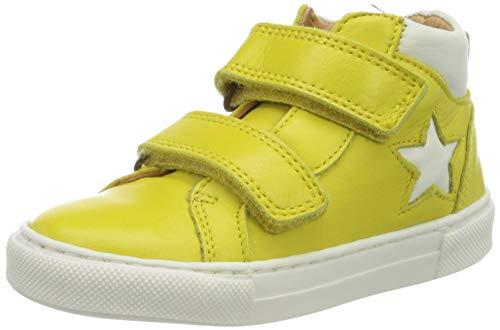 Bisgaard Unisex-Kinder Jacob Hohe Sneaker, Gelb (Yellow 2102), 33 EU