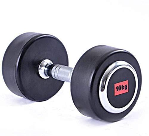 LERSS Verzinktes Eisen Gewichtheben Hantel professionelle Fitness-Hantel-Set 5 Verschiedene Gewichtsvarianten Feste Gewicht Hanteln, Männer und Frauen nach Hause Fitnessgeräte (Größe : 2kg*2)
