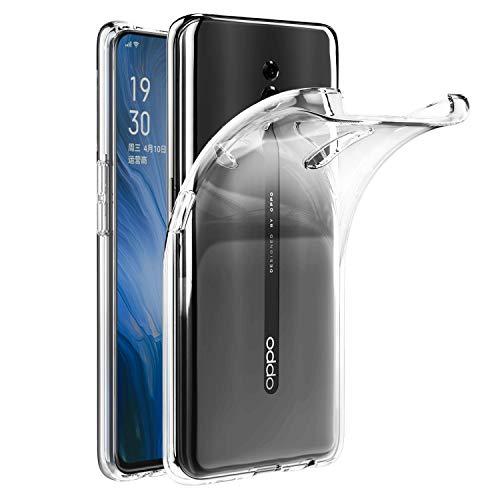 VGUARD Cover Compatibile con Oppo Reno, Silicone Case Molle di TPU Trasparente Sottile Custodia per Oppo Reno
