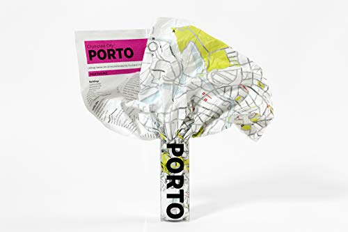 Porto Crumpled City Map (Crumpled City Maps)