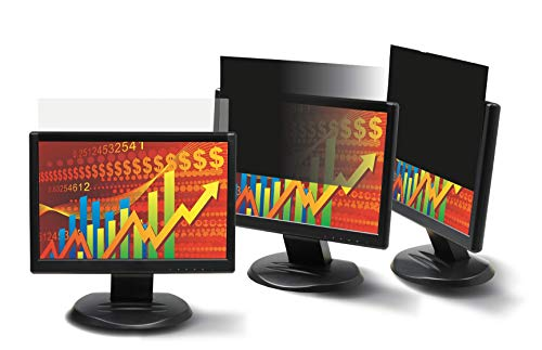 3M Privacy Filter for 22in Widescreen Monitor (16:10) (PF220W1B) (Renewed)