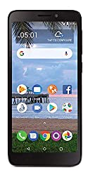 in budget affordable TCL A1 4G LTE TracFone Prepaid Smartphone with Carrier Lock – Black – 16 GB – SIM Card Included – CDMA