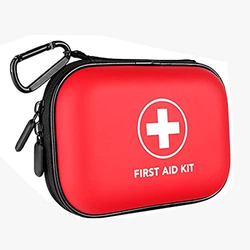 Joyfitness Kit De Primeros Auxilios Compacto, Kit De Primeros Auxilios para Acampar Emergencia Médica, para El Hogar, Automóvil, Camping, Senderismo, Deporte, Trabajo, Oficina (Solo Paquete Vacío)