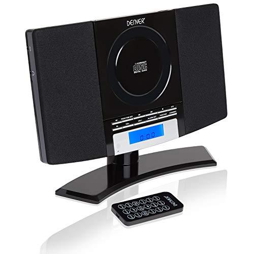 DENVER MC-5220 Black CD Player S...