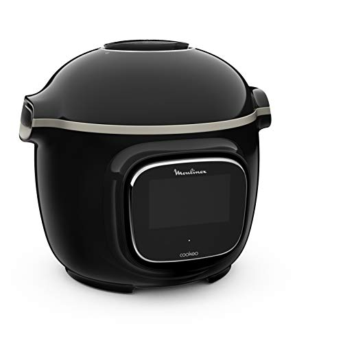 Moulinex Cookeo Touch Multicooker, intelligent, Hochdruck Touch Connect WiFi Schwarz