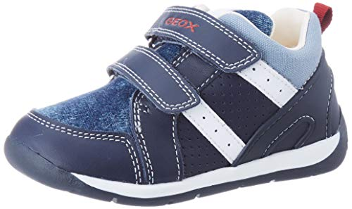 Geox Baby Jungen B Each Boy B Sneaker, Blau (Navy/Lt Blue C0693), 23 EU