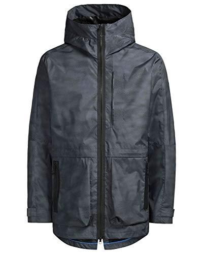 JACK & JONES Herren JJTSTORM Jacket Parka, Grau (Asphalt Detail:Melange), Medium (Herstellergröße: M)
