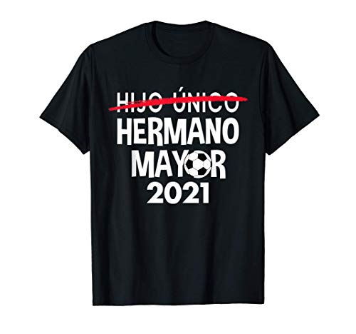 T-Shirt Hermano Mayor 2021 Fútbol Camiseta