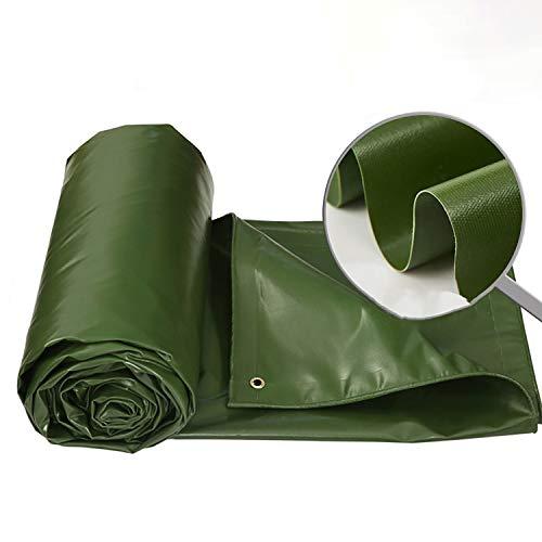 YYZSL Planen Heavy-Duty-Planen, Wasserfeste Zeltanhänger Decken Mehrschichtige, Reißfeste Plane In Vielen Größen Und Dicken Ab (Farbe : Grün, größe : 36x24ft)