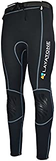 Layatone 2mm / 3mm Neoprene Pants Wetsuits Men Women Scuba Diving Surfing Pants Adults Wet Suit Pants UV Protection Kayaking Canoeing Diving Pants Women Men