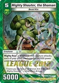 Kaijudo TCG - Mighty Shouter, the Shaman (P7/Y1) - Promos