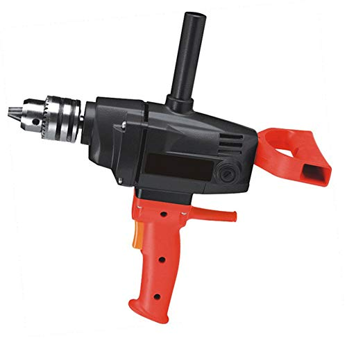 NBHBSZY Electric Drill, Diamond Drill, with 360 Degrees Auxiliary Metal Handle, 1200W High Power, Made of Components, Stable Reliable and Powerful