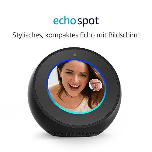 Amazon Echo Spot – Schwarz - 2