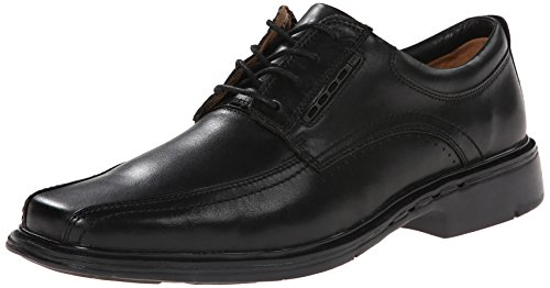 CLARKS Men's Un.Kenneth, Black, 8.5 D - Medium