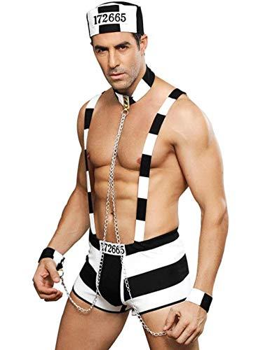 AFirst Mężczyźni sexy cosplay mundurek policyjny bielizna impreza kostium odgrywanie ról strój bielizna na Walentynki klub nocny występ