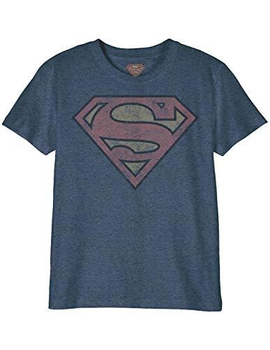 T-Shirt Enfant Superman DC Comics - Superman Logo Grunge