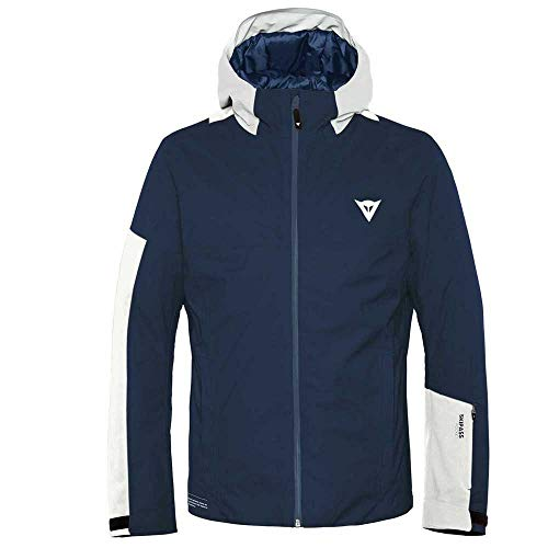 Dainese Herren Hp2 M4 Ski Jacke, Black-Iris/Lily-White, M