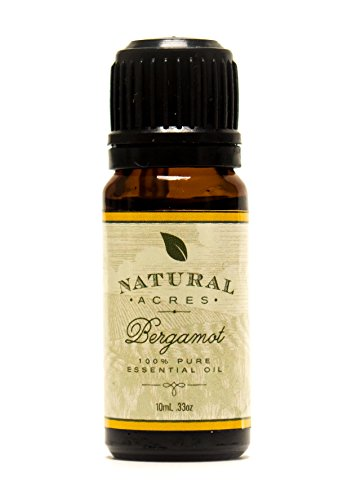 Natural Acres Bergamot Essential Oil - 100% Pure Therapeutic Grade Bergamot Oil 10ml