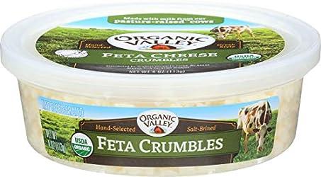 Organic Valley Organic Feta Cheese Crumbles, 4 oz