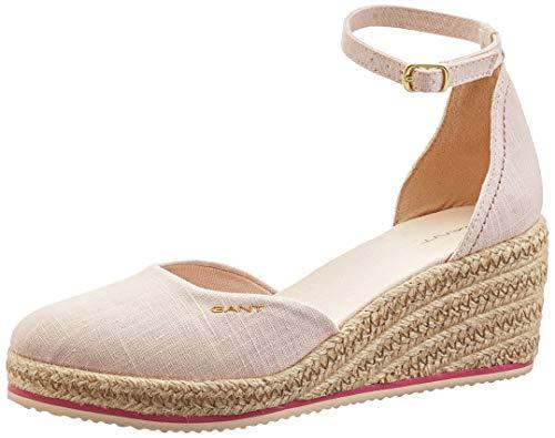 GANT Footwear Damen WEDGEVILLE Riemchensandalen, Pink (Seashell Pink G57), 39 EU