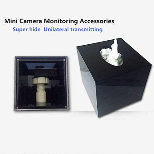 Super Camara caja de camuflaje, espía cámara caja de pañuelos, seguridad en el hogar cámara funda. -sunny Rainbow