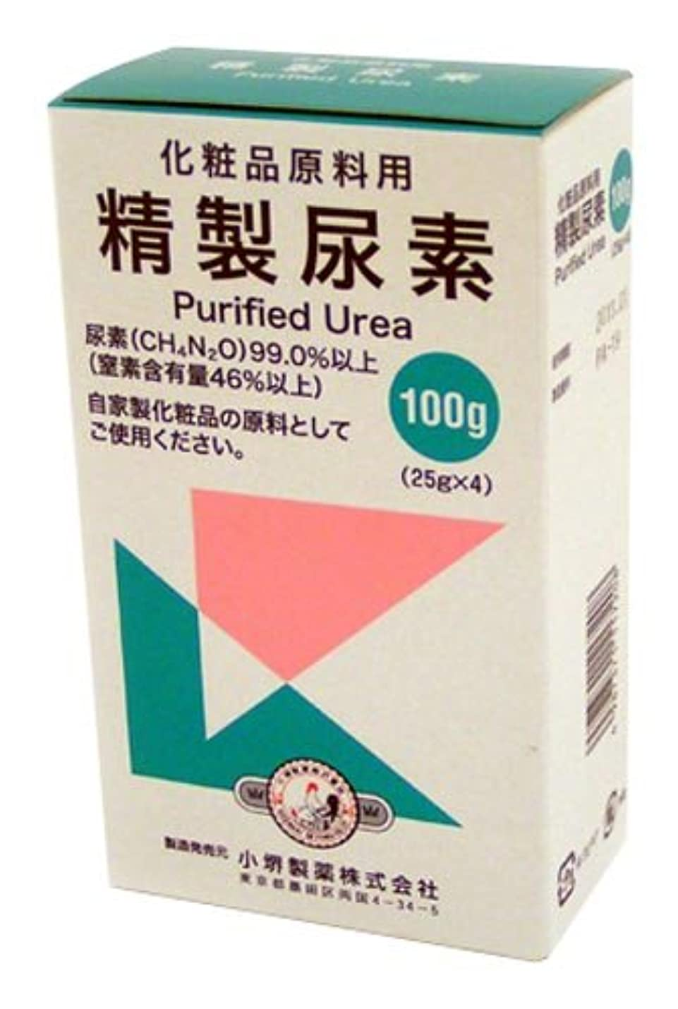 終了する有用味方精製尿素 25g×4