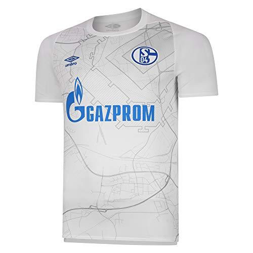 UMBRO FC Schalke 04 - Camiseta de fútbol, color blanco, color Producto...