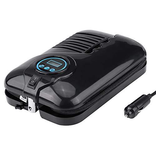 Wangzhi Inflador De Neumáticos Digital 12V Bomba De Compresor De Aire Portátil 100 PSI para Neumático De Coche Bola De Aire Barco # 87545