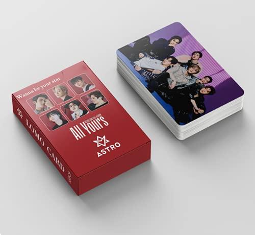 Astro Photocards 55pcs Astro nuevo álbum All Yours lomo Cards Astro Kpop Merchandise...